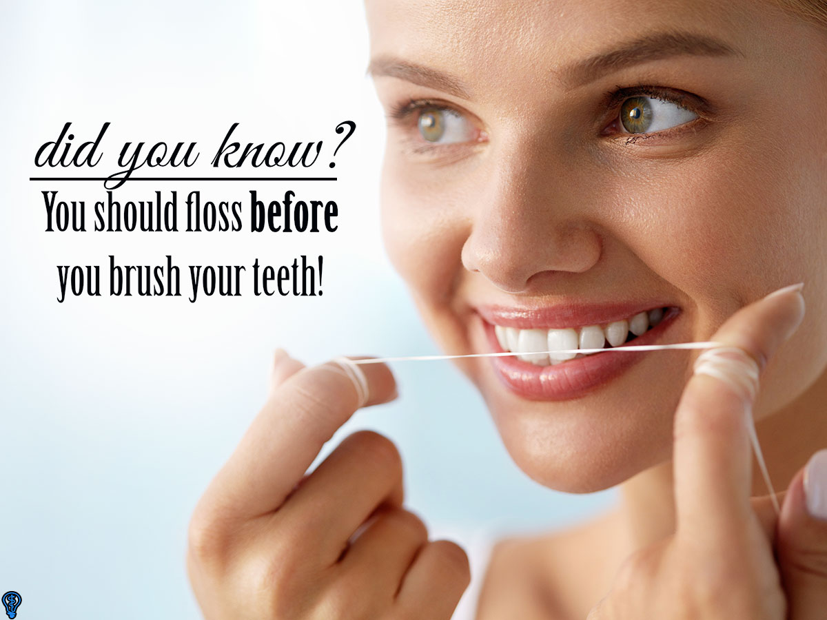Flossing Is Essential For Cleaning Teeth